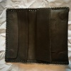 Wilson's of Sharrow Handrolling Tobacco Pouch - Dark Brown Leather