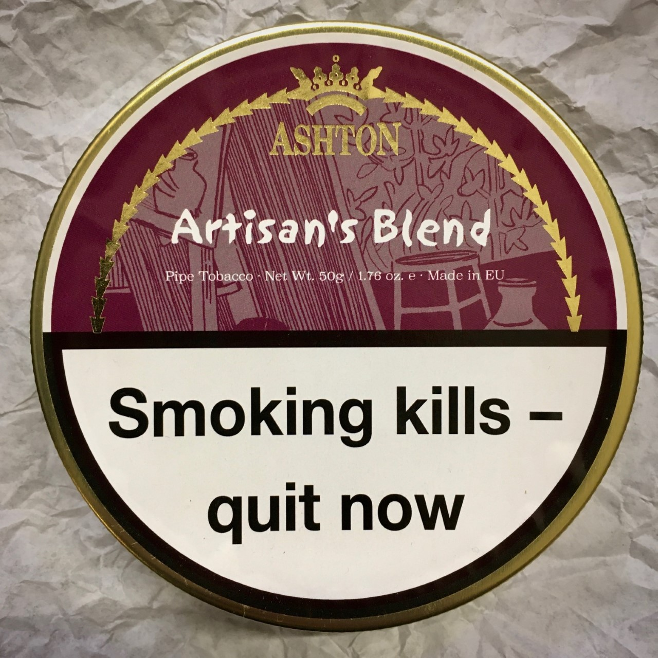 Ashton Artisan's Blend Pipe Tobacco - 50g