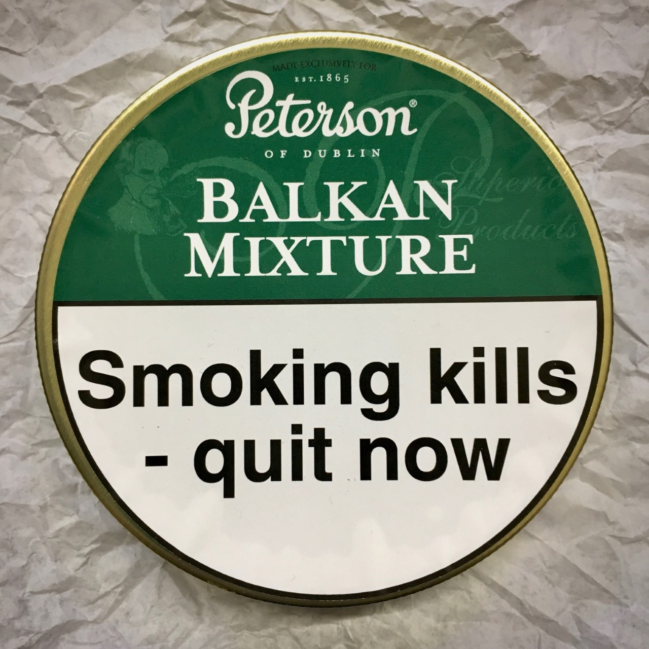 Peterson Balkan Mixture Pipe Tobacco - 50g