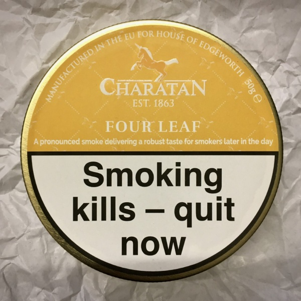 Charatan Four Leaf Pipe Tobacco - 50g Tin