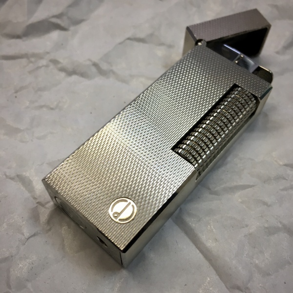 Dunhill Rollagas Lighter - Silver Plated - Refurbished
