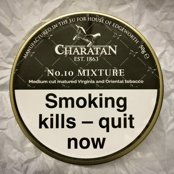 Charatan No.10 Mixture Pipe Tobacco - 50g Tin
