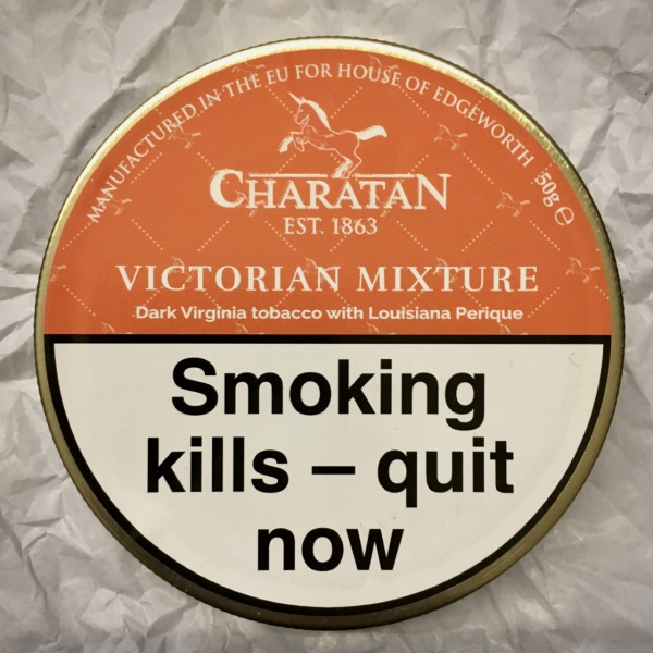 Charatan Victorian Mixture Pipe Tobacco - 50g Tin