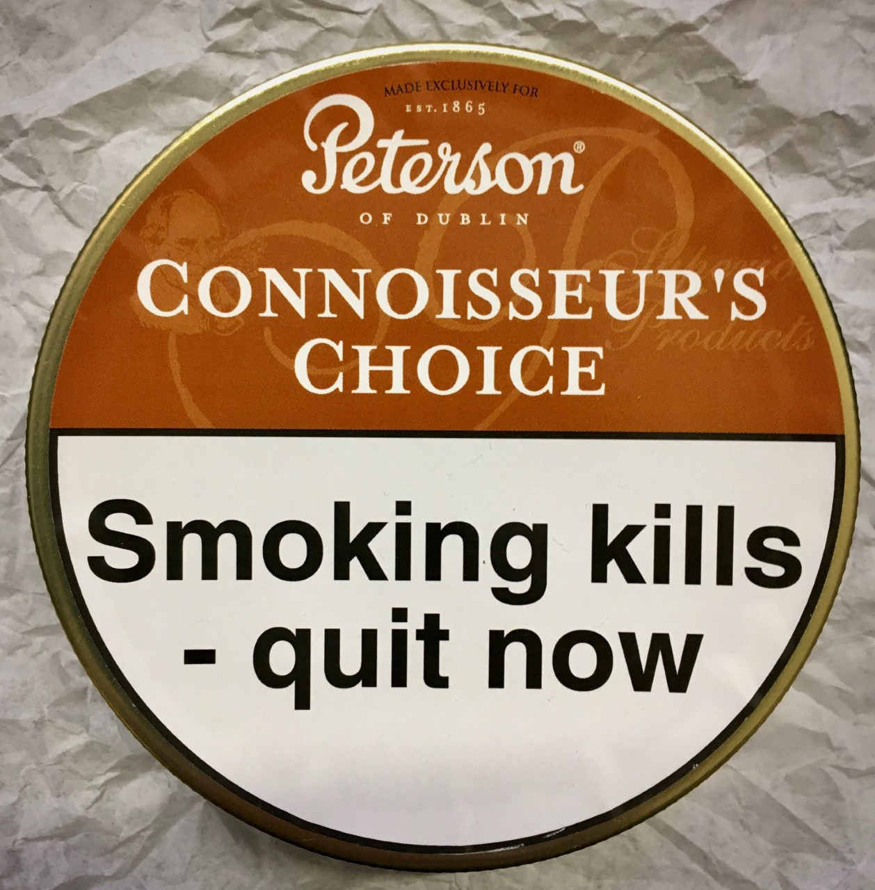 Peterson Connoisseur's Choice Pipe Tobacco - 50g