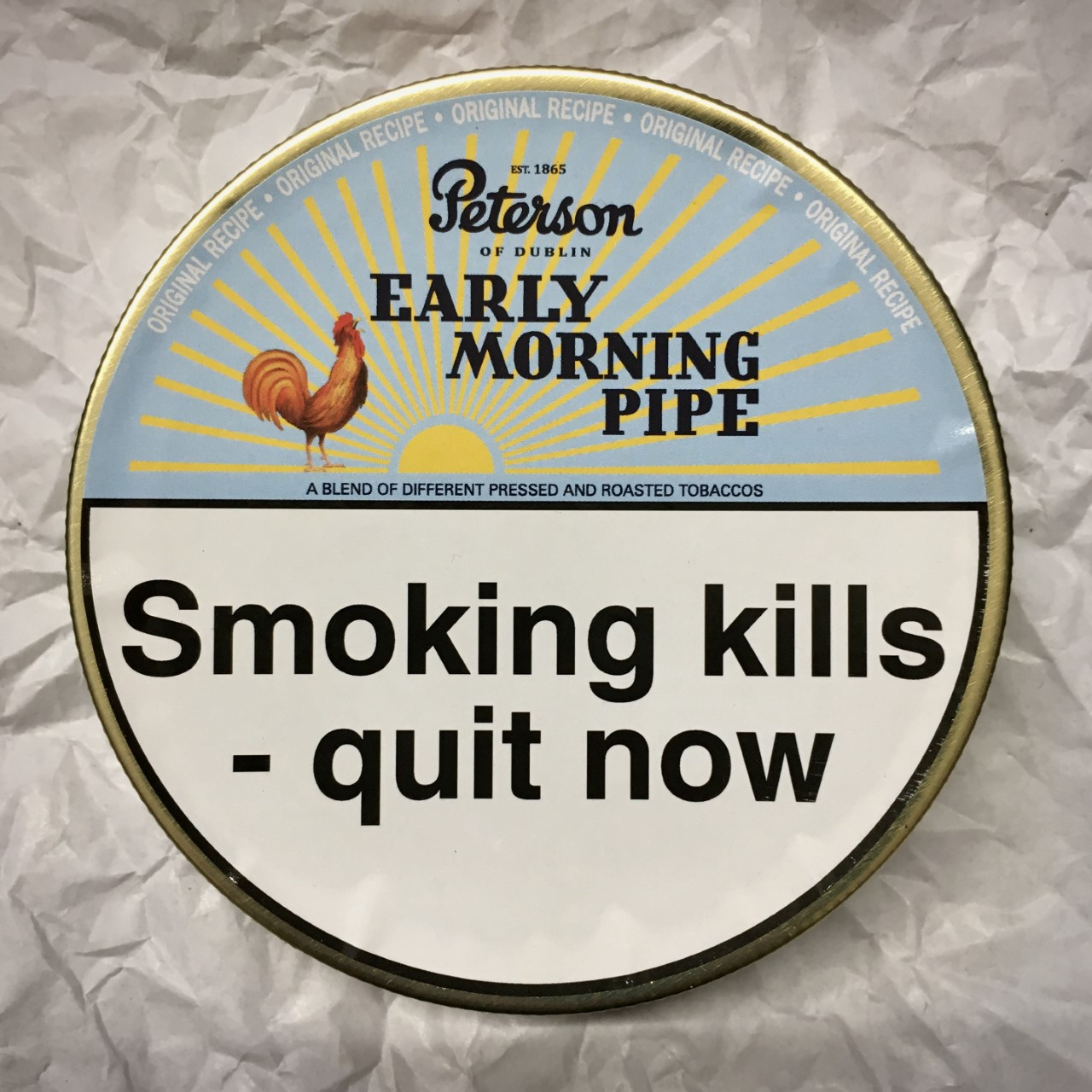 Peterson Early Morning Pipe Tobacco - 50g Tin