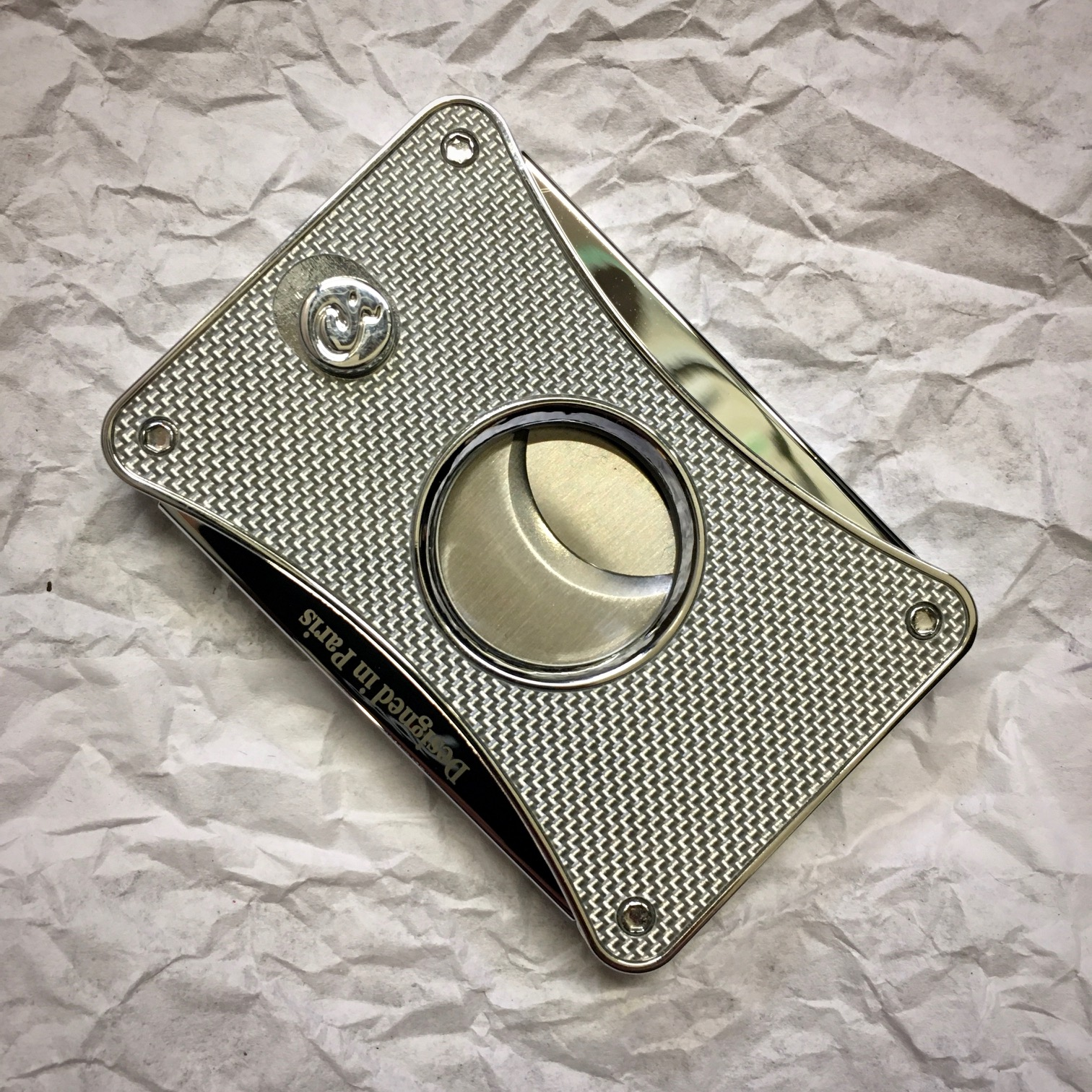 Caseti Cigar Cutter - Chrome Plated