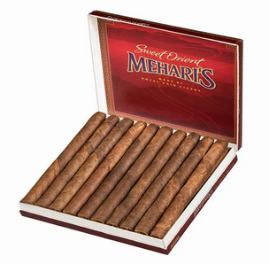 Mehari's Red (Sweet) Orient - Box of 10 Cigars