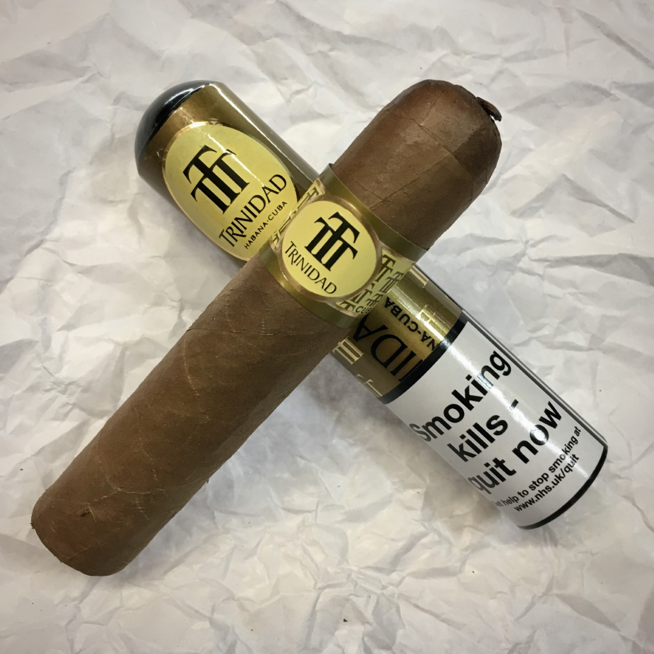 Trinidad Vigia - Tubed Single Cigar