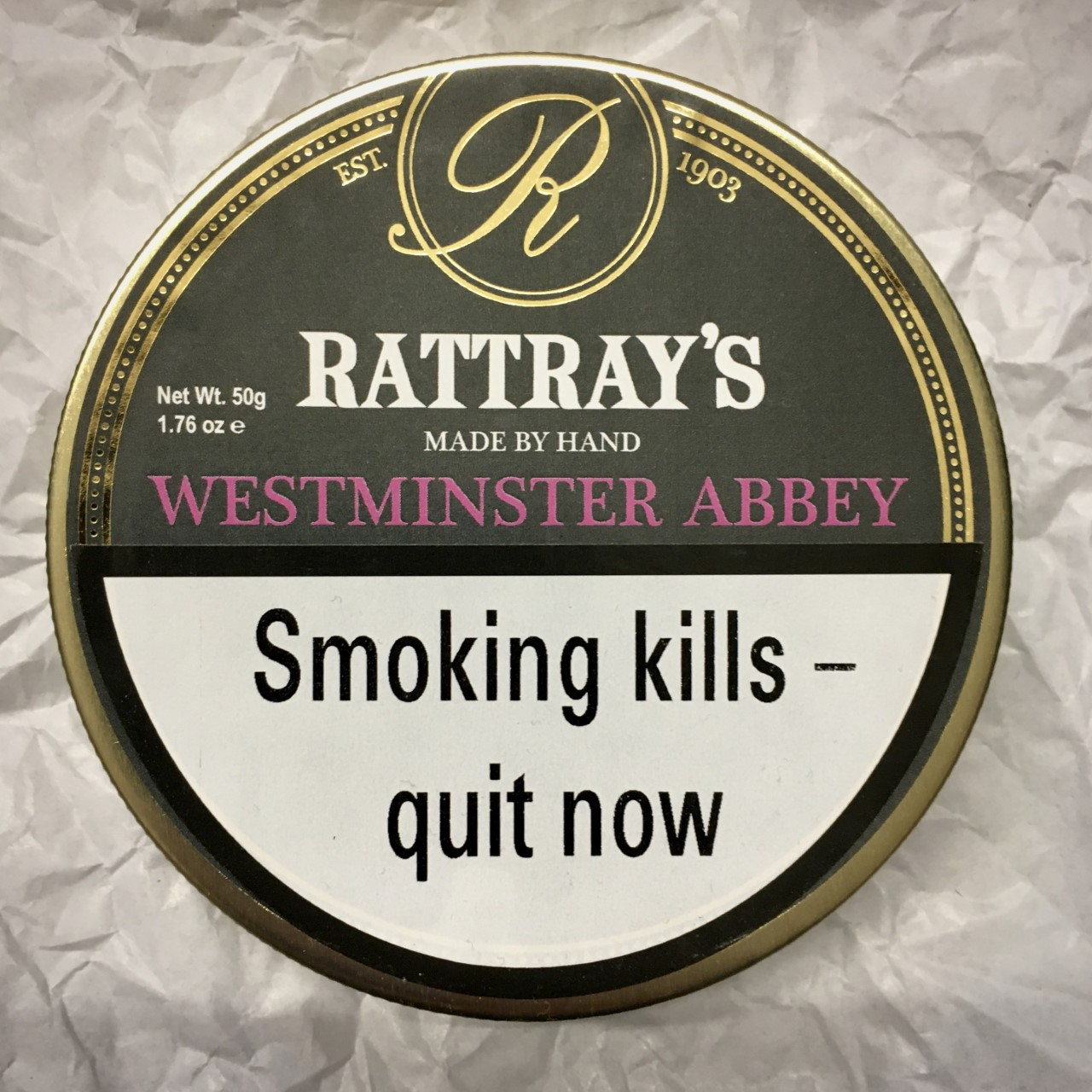 Rattray's Westminster Abbey Pipe Tobacco - 50g Tin