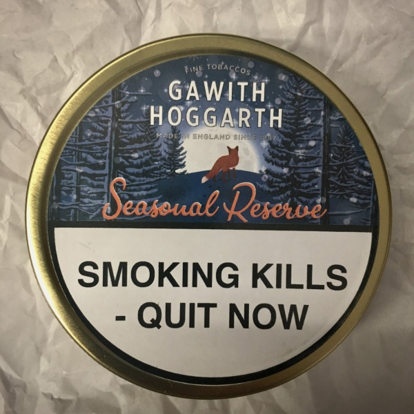 Gawith Hoggarth & Co Seasonal Reserve 2020 Christmas Pipe Tobacco - 50g Tin